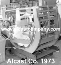 1973 Picture of Manufacture of Tilt Pour Aluminum Castings in the US