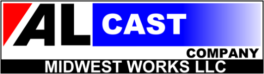 Alcast Company Midwest Works Aluminum Foundry Logo