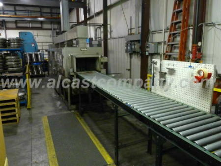 machined aluminum casting parts washer