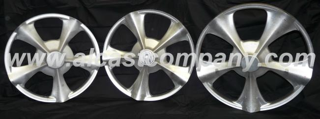 cast aluminum wheel centers