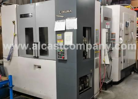 Aluminum Foundry Horizontal CNC Machining Center