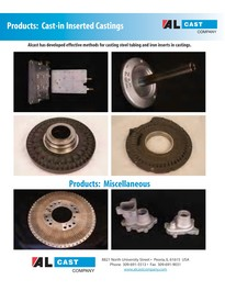 insert and misc aluminum castings brochure