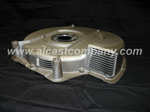 aluminum castings corp air set, or no bake large sand casting machined at alcast company.