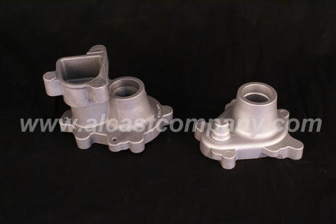 Alcast Company aluminum foundry automotive suspension cast housings