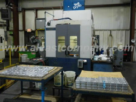 Aluminum foundry CNC verticle machining center